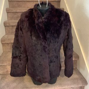 Vintage Dino Ricco Lapin Rabbit Fur jacket size M